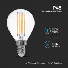 Lâmpada LED V-TAC E14 P45...