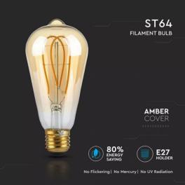 Lâmpada LED V-TAC E27 ST64...