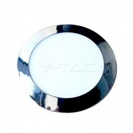 Painel LED V-TAC 6W Redondo...