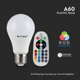 Lâmpada LED V-TAC E27 A60...
