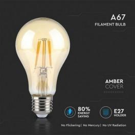 Lâmpada LED V-TAC E27 A67...