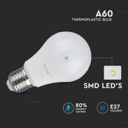 Lâmpada LED V-TAC E27 G45...