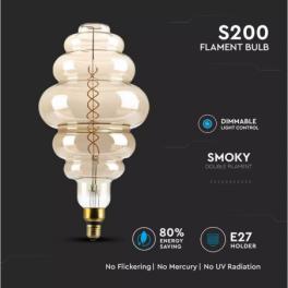 Lâmpada LED V-TAC E27 S200...