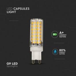 Lâmpada LED V-TAC G9 6W Luz...