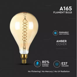 Lâmpada LED V-TAC E27 A165...