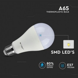 Lâmpada LED V-TAC E27 A65...