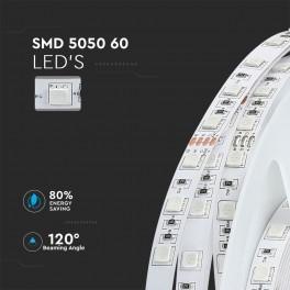 Fita LED V-TAC 24V 9W/m 60x...