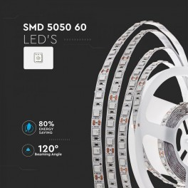 Fita LED V-TAC 9W/m 60x SMD...