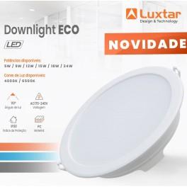 Downlight LED LUXTAR 15W...